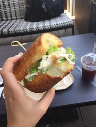 Shanghai sandwich