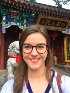 Beijing Restaurant Selfie